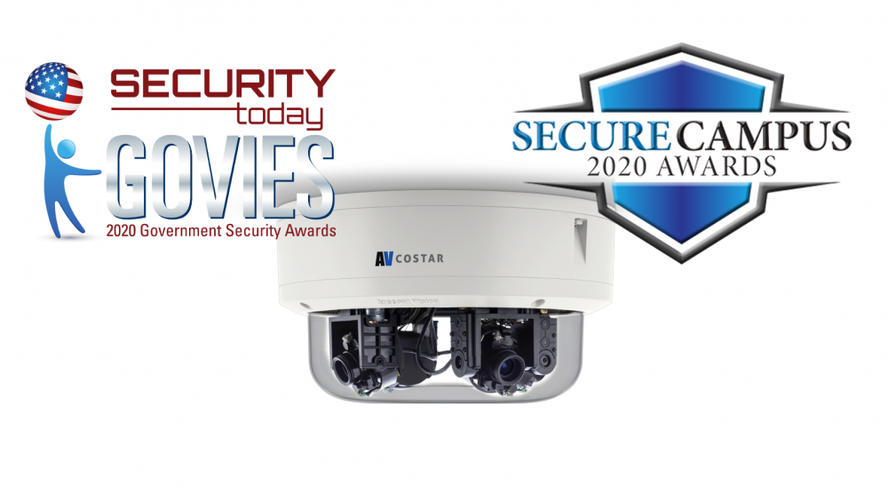 New AV Costar Omni Camera to Take Home Two Security Industry Awards