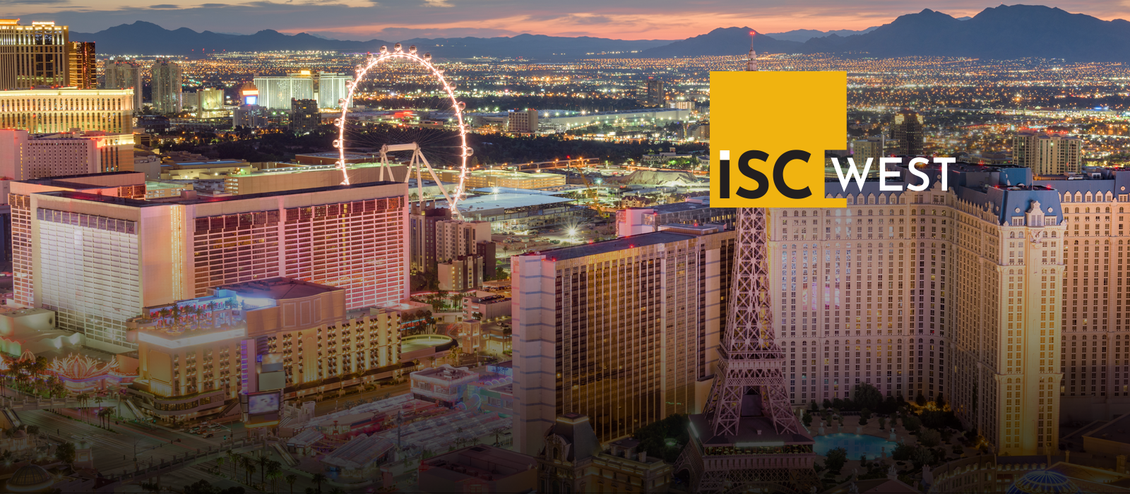 Visit Us at ISC WEST 2020 Booth #8045<br />March 18-20 Sands Expo, Las Vegas, NV