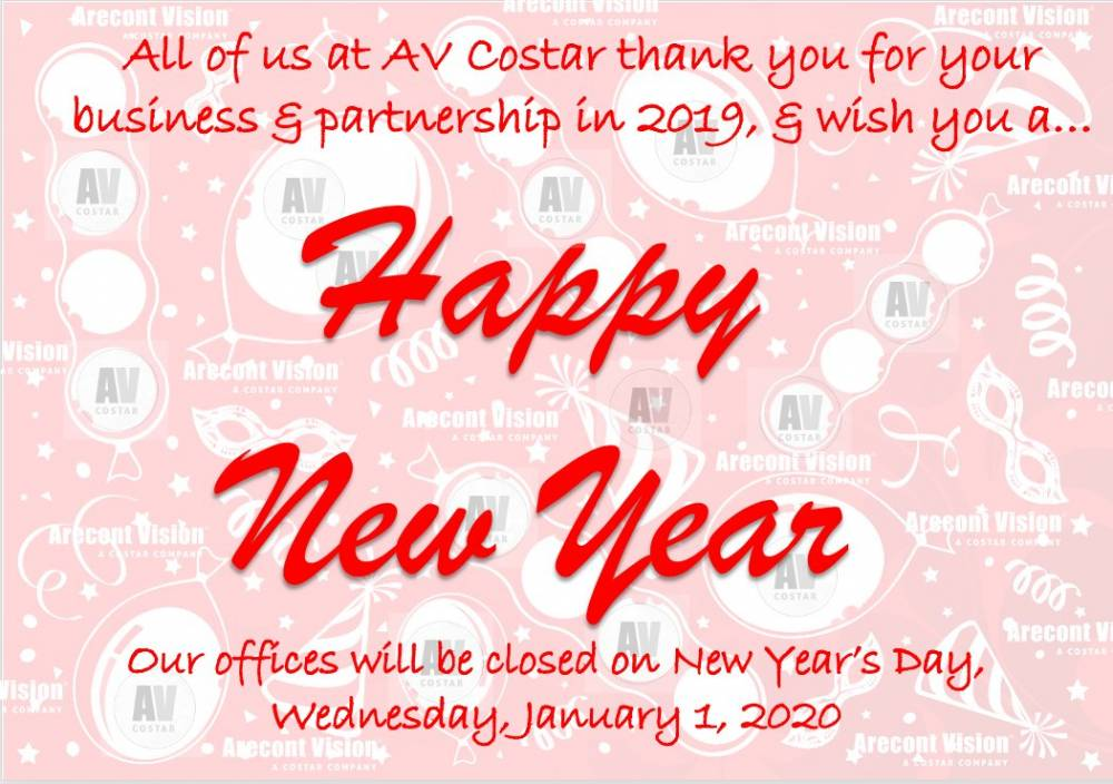 Happy New Year from AVC!