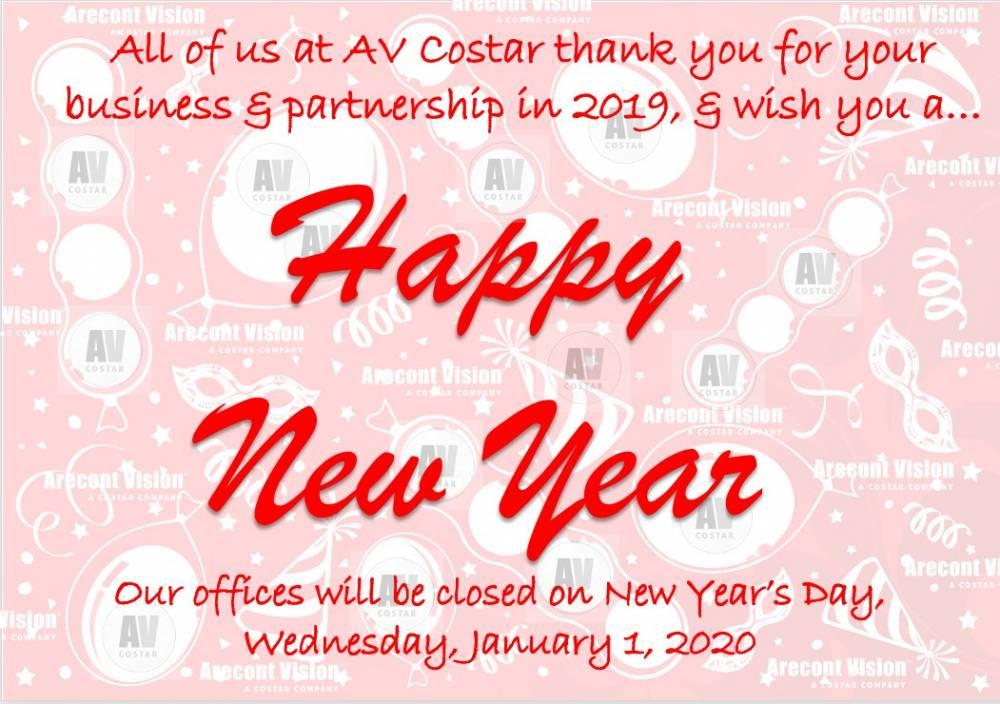 Happy New Year from AVC!