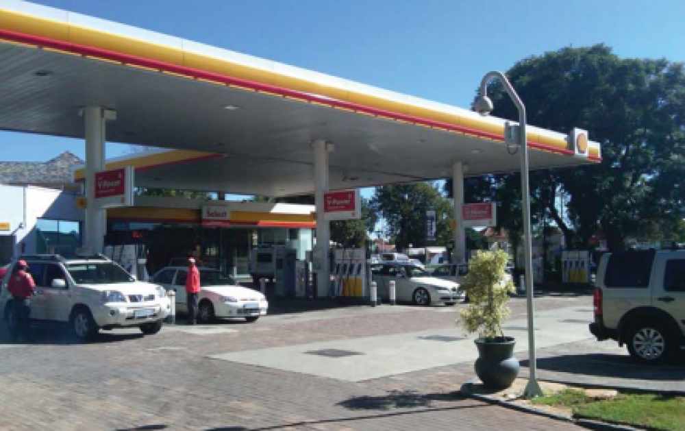 Megapixel Cameras Provide Panoramic Coverage of South African Gas Station