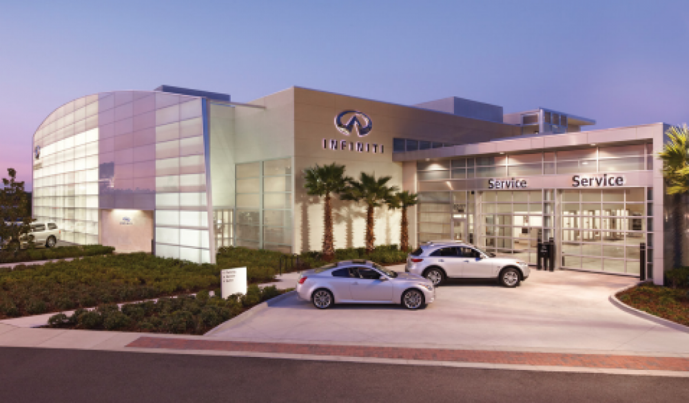 Megapixel Cameras Watch Luxury Cars Around the Clock at Orlando Infiniti