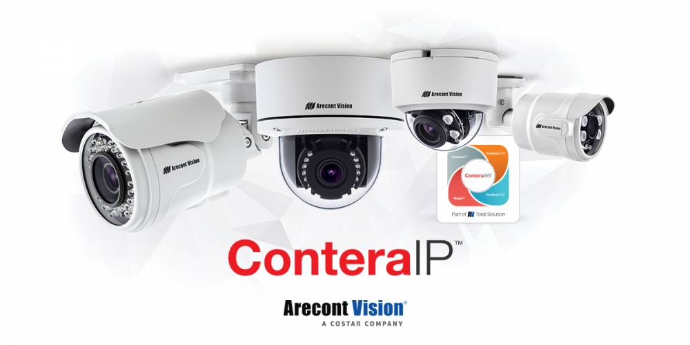Arecont Vision Costar Announces Immediate Availability of all ConteraIP™ Single-Sensor Megapixel Camera Models
