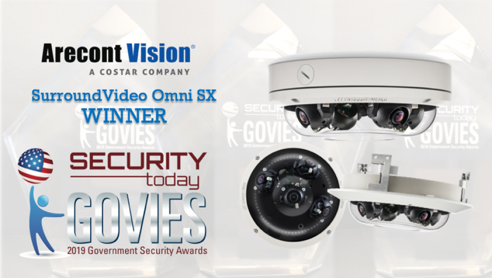 Arecont Vision Costar SurroundVideo Omni SX Receives Industry Award at ISC West