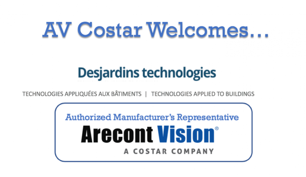 Arecont Vision Costar Joined by Desjardins Technologies For Eastern Canada