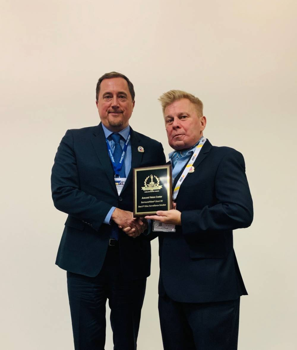 Arecont Vision Costar Brings Home Security Industry Award from ISC East