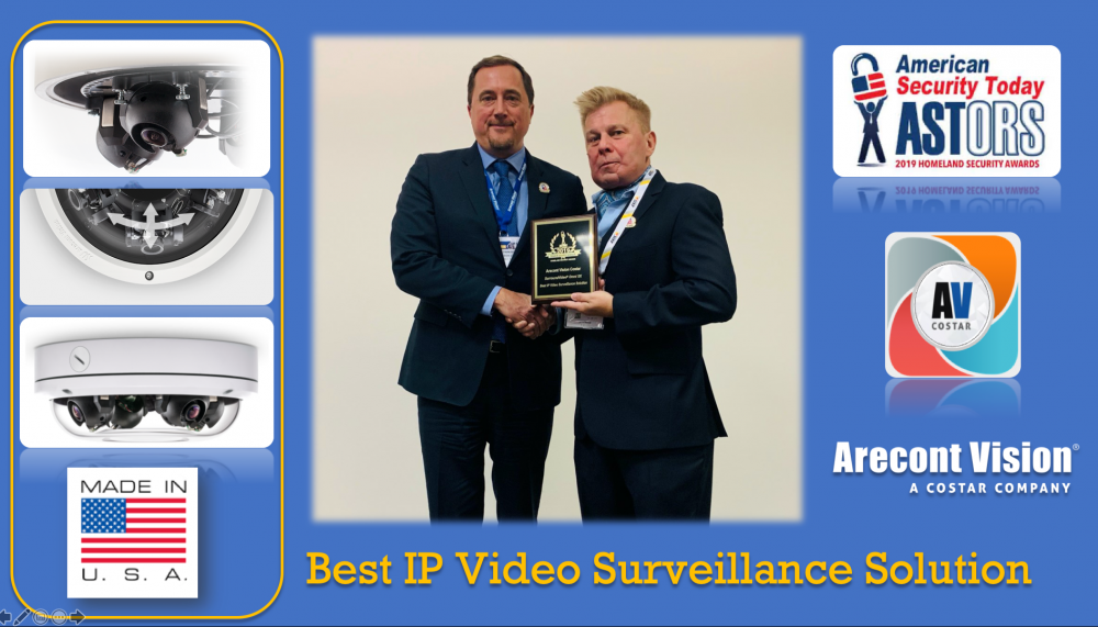 AVC SurroundVideo Omni SX Receives ASTORS Homeland Security Award