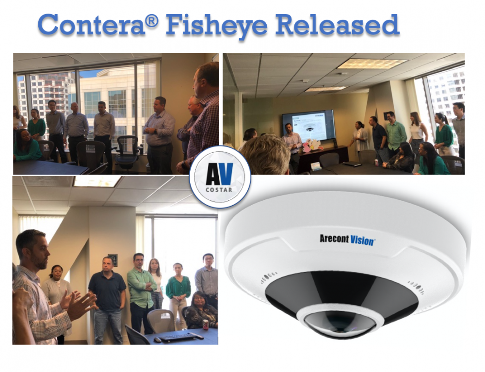 AV Costar Releases New Contera Fisheye Camera 1st Unveiled at GSX Chicago