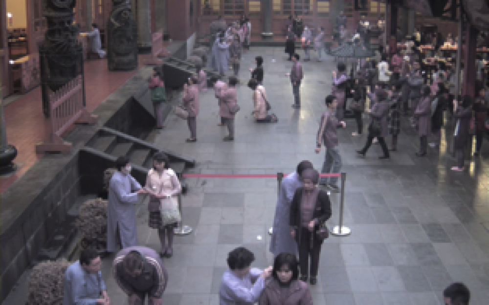 Arecont Vision Megapixel Cameras Monitor Crowds at Hsing Tian Kong Temple in Taiwan