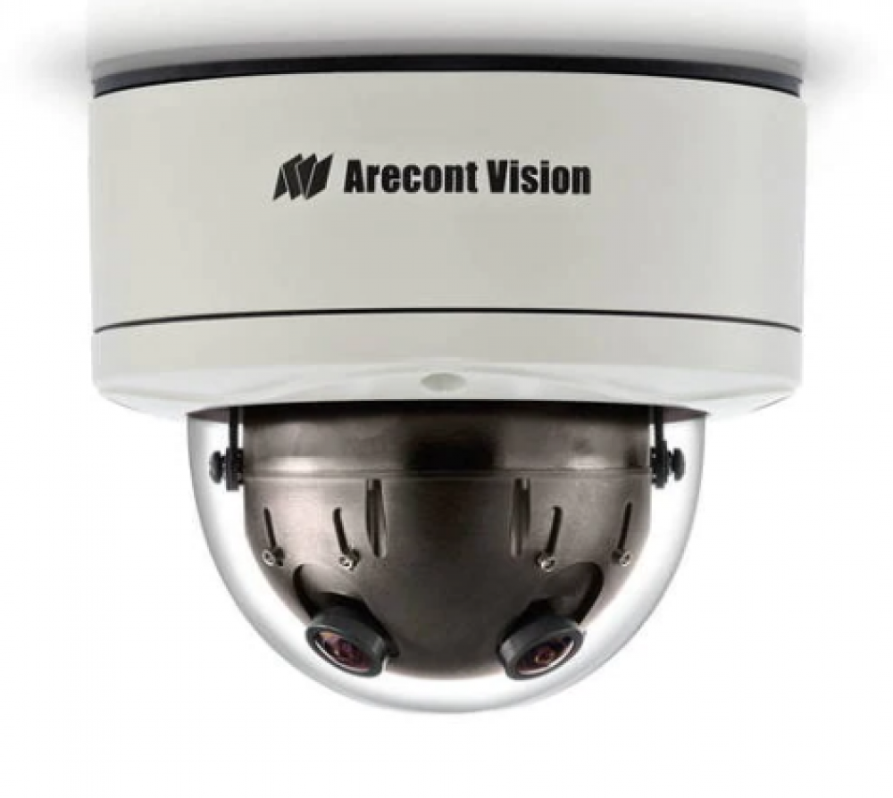 Arecont Vision® SurroundVideo® 12-Megapixel 360° Panoramic Camera with True Wide Dynamic Range