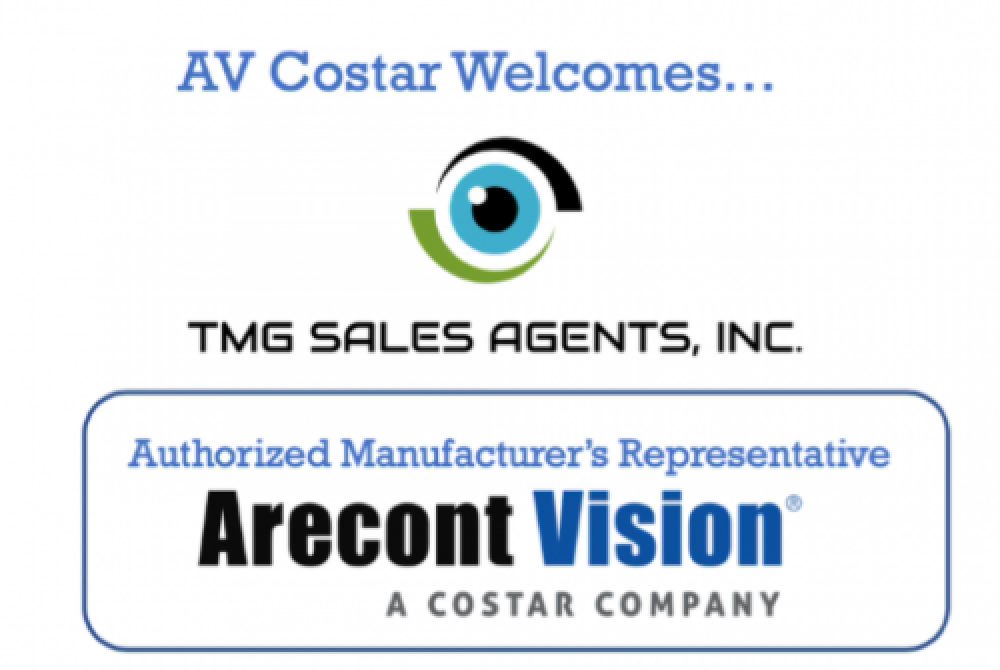 Arecont Vision Costar Increases Southern Coverage with TMG Sales Agents, Inc.