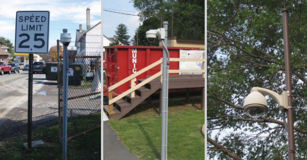 Arecont Vision Cameras Help Control Illegal Dumping in Pennsylvania