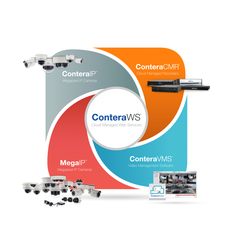 Arecont Vision® Releases ConteraVMS®, ConteraWS® Web Services, & ConteraCMR® Cloud Managed Recorders