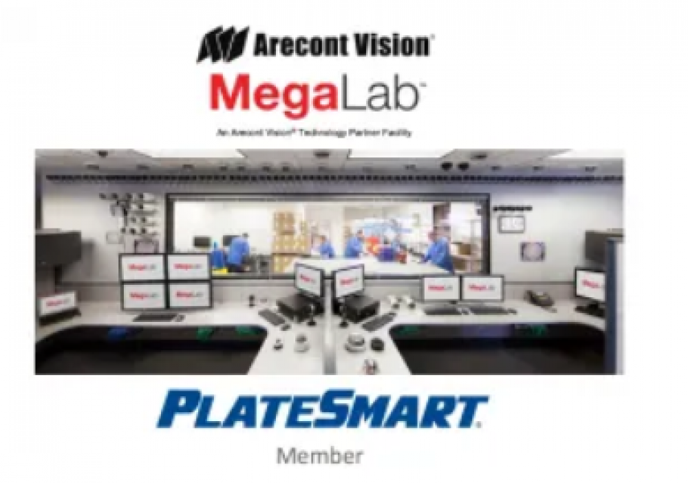 Arecont Vision® Expands Technology Partner Program with PlateSmart® for Automatic License Plate Recognition