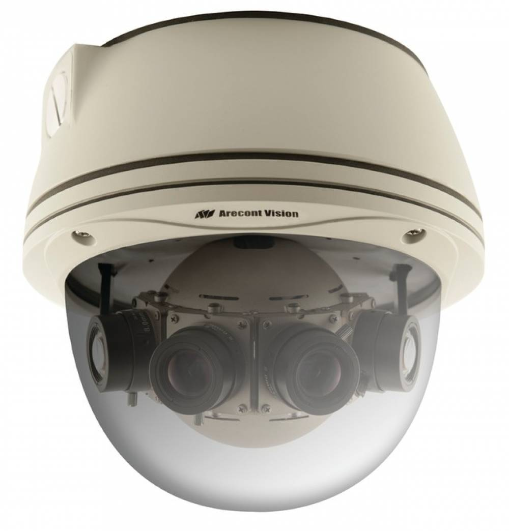 Arecont Vision Ships Industry's First 20 Megapixel 180 Degree Panoramic IP Camera
