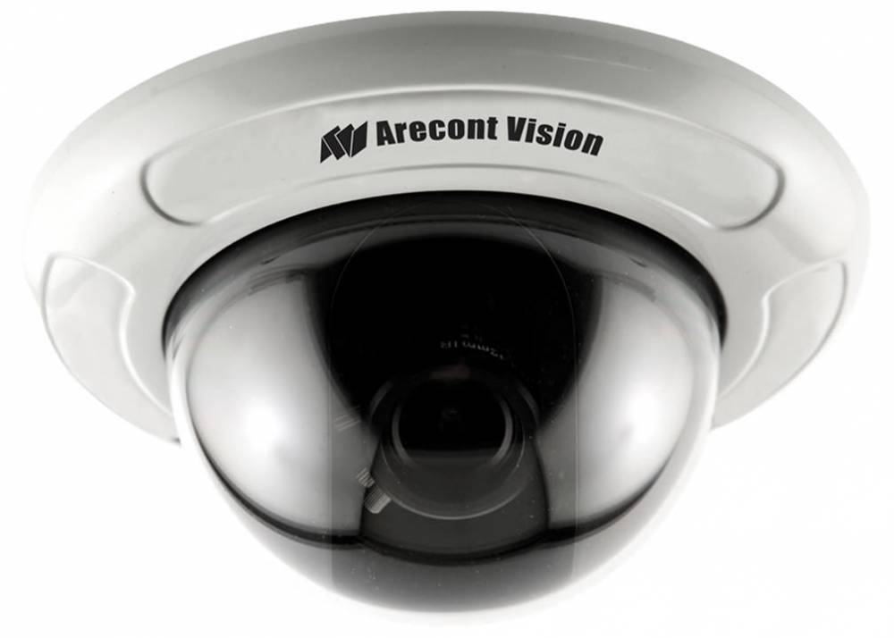 Arecont Vision Adds New D4S and D4F Series of 4 Inch All-in-One Indoor MegaVideo® Dome