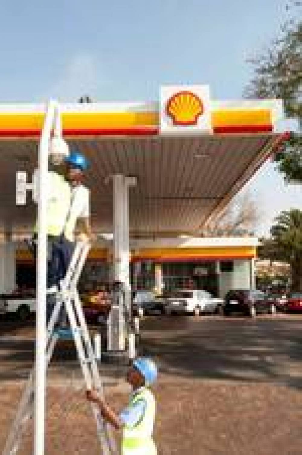 Megapixel Cameras Provide Panoramic Coverage at Shell Petrol Station