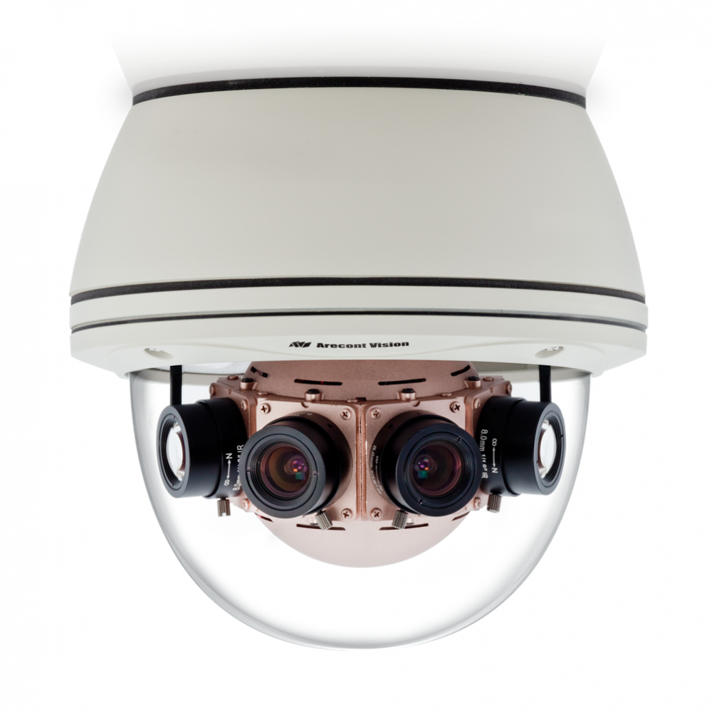 Arecont Vision Demonstrates Industry's First 40 Megapixel SurroundVideo® Panoramic Day/Night Cameras