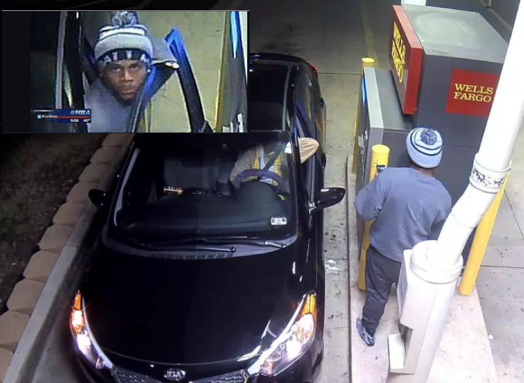 ATM kidnapping, Arlington, TX