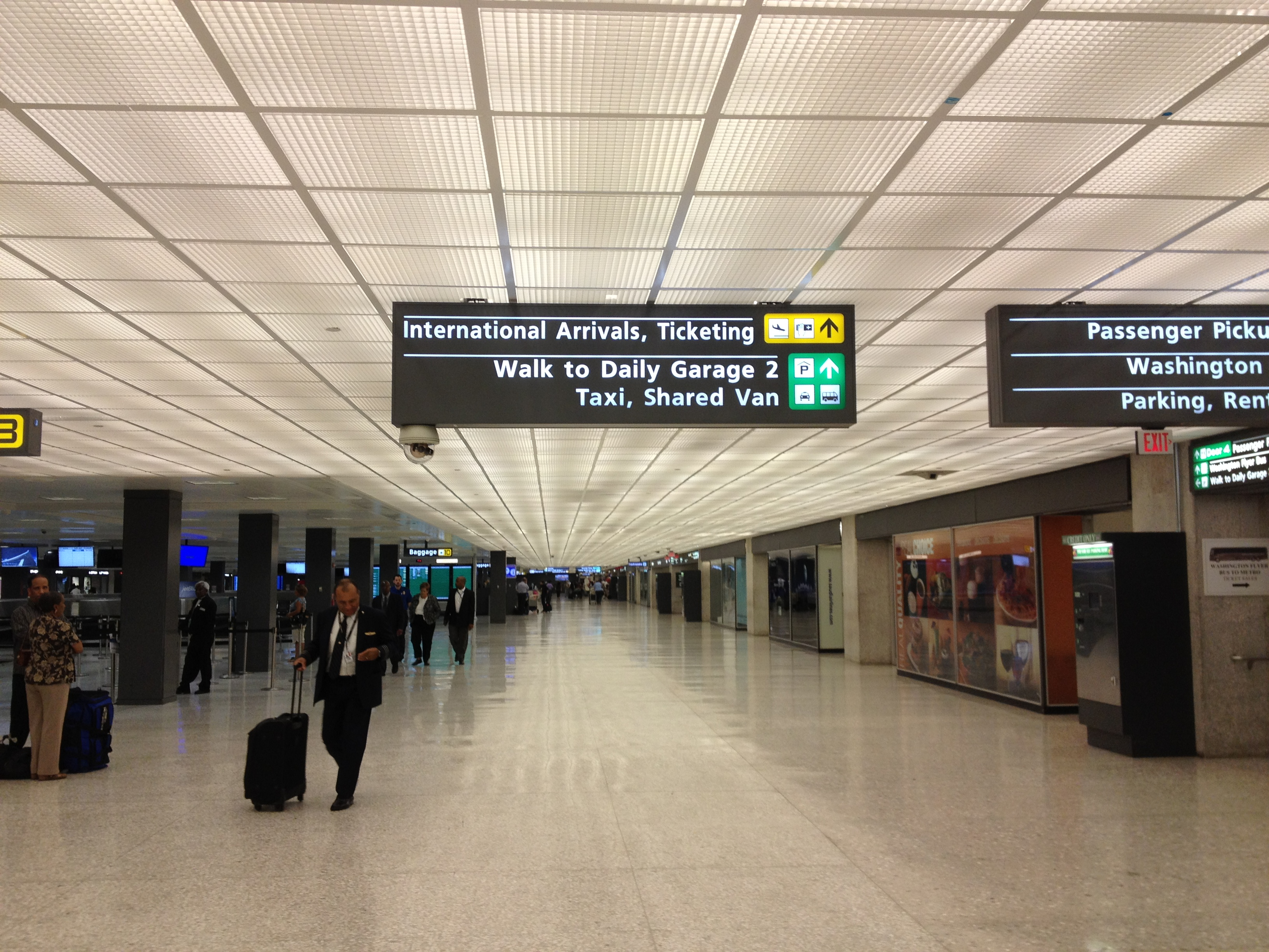 Dulles International Airport (IAD), Washington DC